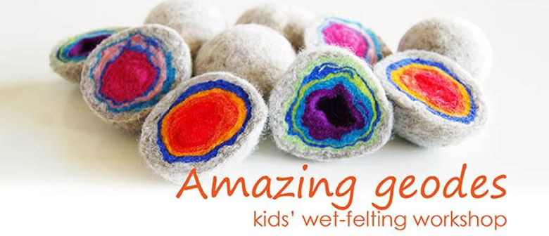 October School Holidays - Kids' Wet-Felting Workshop