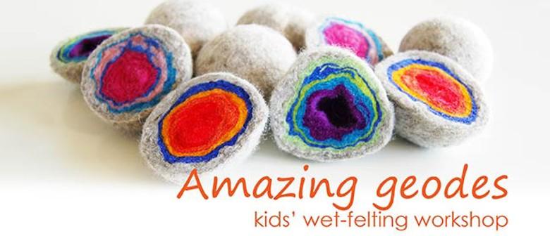 October School Holidays - Kids' Wet-felting Workshop