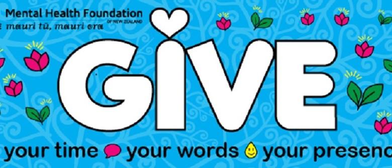 Give at Karori Rec - Wellington Wellbeing Week