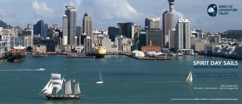 Public Day Sail on Spirit of New Zealand