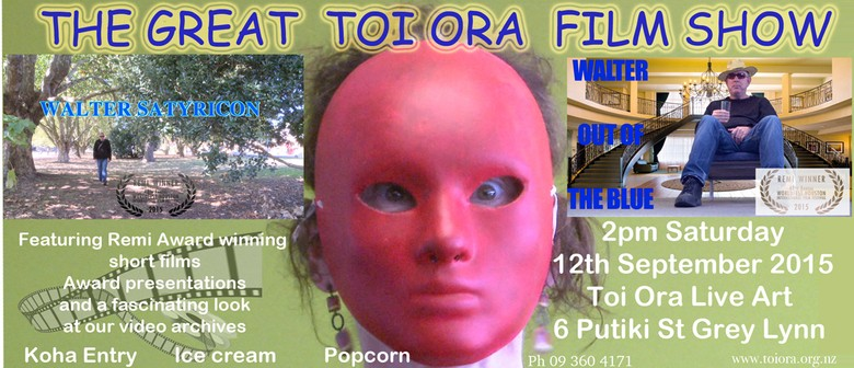 The Great Toi Ora Film Afternoon