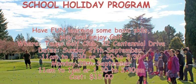 Junior Golf Holiday Programme