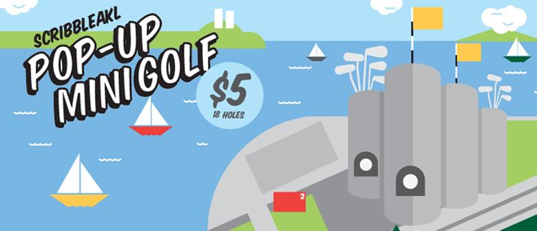 ScribbleAKL Pop-Up Mini Golf