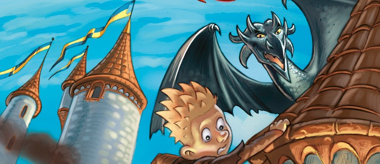Drawing Dragons with Donovan Bixley