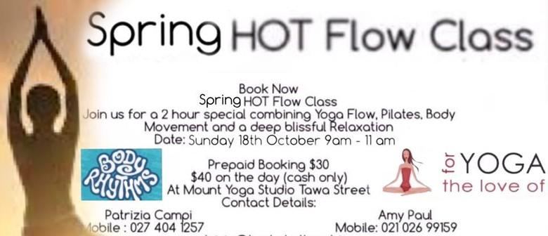 Spring Hot Flow Class
