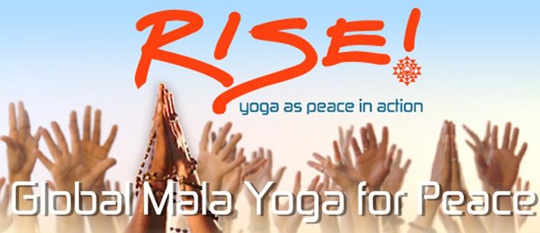 Global Yoga Mala - Celebrating International Peace Day
