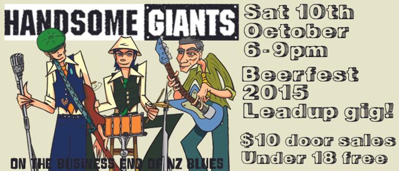 Beerfest Build-up! Handsome Giants
