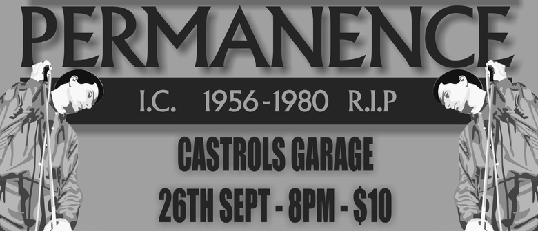 Permanence Perform the Music of Joy Division w/ DJ '59 to 1'