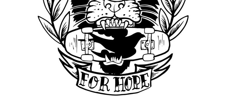 Skate for Hope Pop-up Art Fundraiser Cash and Carry