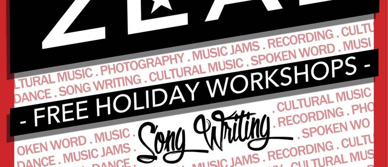 Zeal Free Creative Arts Holiday Workshops