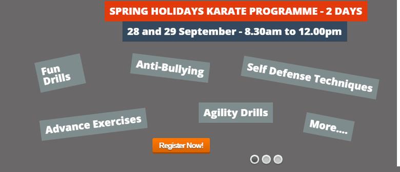 Spring Holiday Karate Programme
