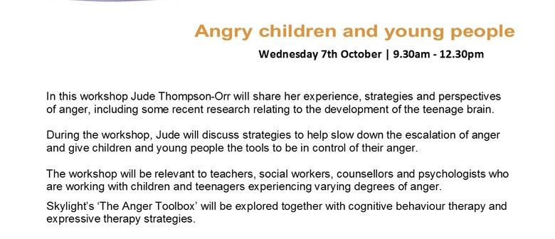 Angry Children and Young People