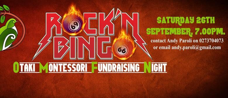 Otaki Montessori Preschool Rock Bingo Night