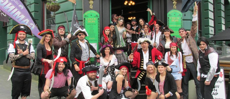 The 11th Annual Talk Like a Pirate Day Pubcrawl