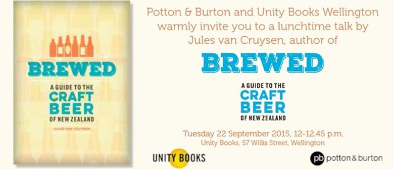 Book Event | Brewed by Jules Van Cruysen