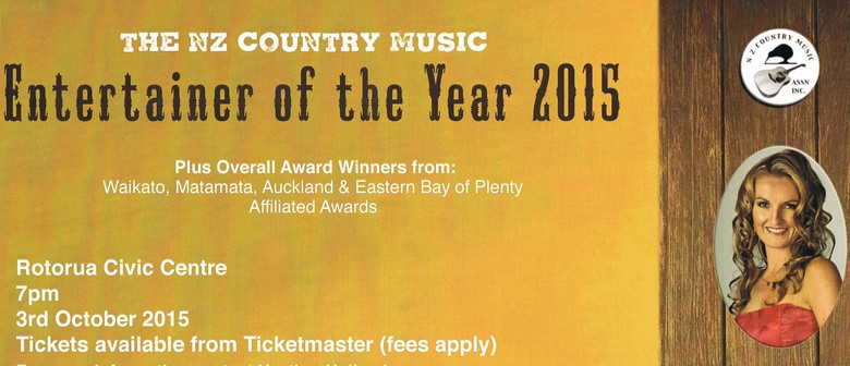 New Zealand Country Music Awards - Entertainer of the Year