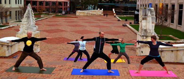 Wellington Free Yoga Day