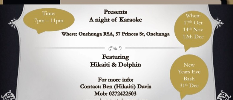 Karaoke and Entertainment with Hikaiti and Dolphin