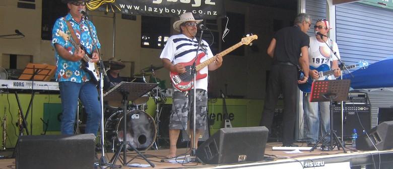 The Lazyboyz & Wayne Anderson