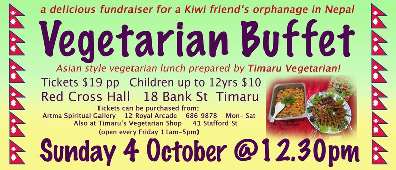 "Delicious Fundraiser for Nepal ""Vegetarian Buffet"""