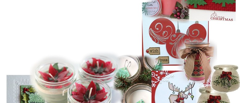 Christmas Candles & Cards Workshop