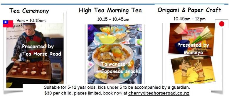 School Holidays - Tea Ceremony & Origami/Paper Craft