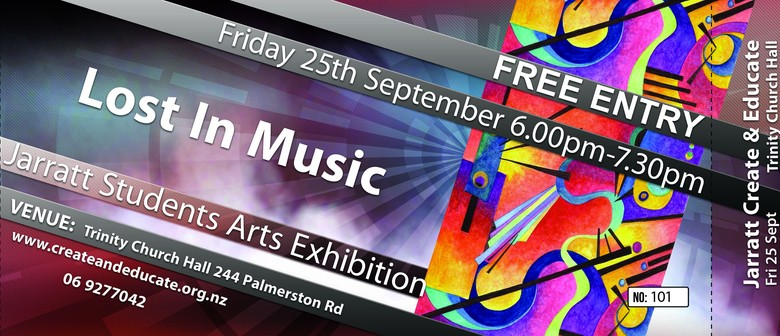 Lost In Music - Jarratts Arts Exhibition