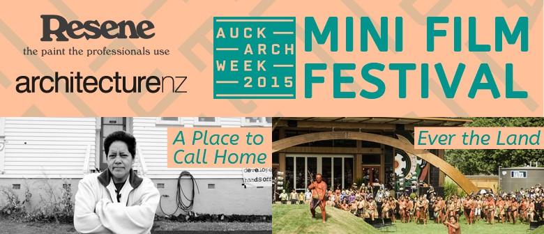 Auckland Architecture Week Mini Film Festival