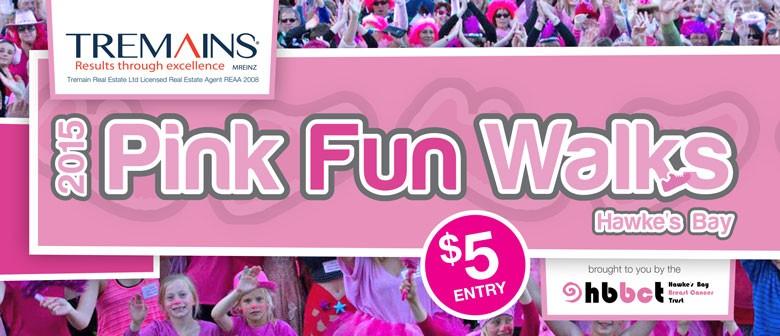 Tremains 2015 Pink  Fun Walks