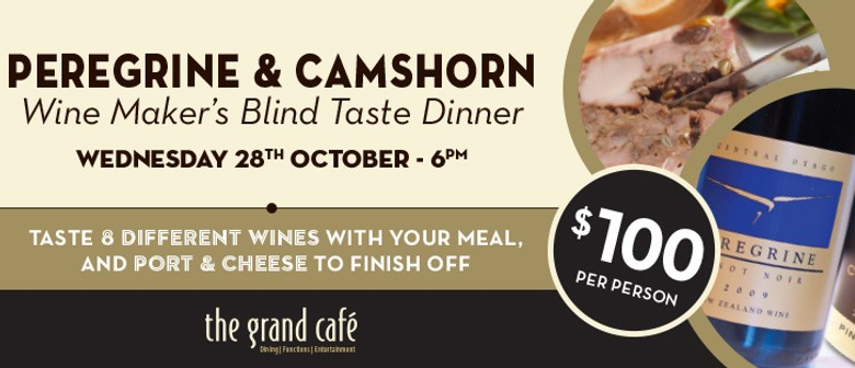 Peregrine & Camshorn Wine Maker's Blind Taste Dinner