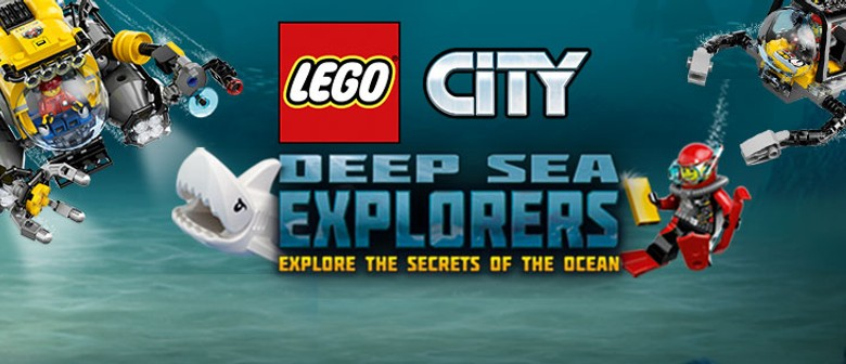 LEGO Takes the Plunge at Kelly Tarlton's Sealife Aquarium