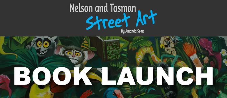 Nelson and Tasman Street Art Book Launch