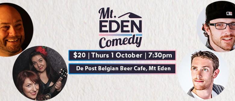 Mt Eden Comedy: Brendhan Lovegrove