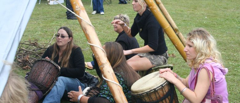 Helensville Drum Circle