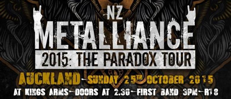 NZ Metalliance: The Paradox Tour; Auckland Event