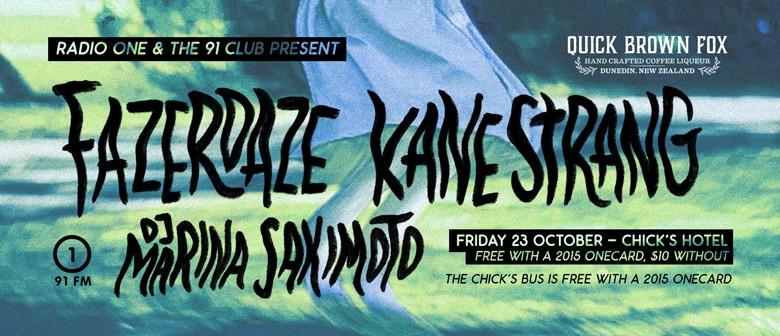 91 Club: Fazerdaze, Kane Strang, & DJ Marina Sakimoto