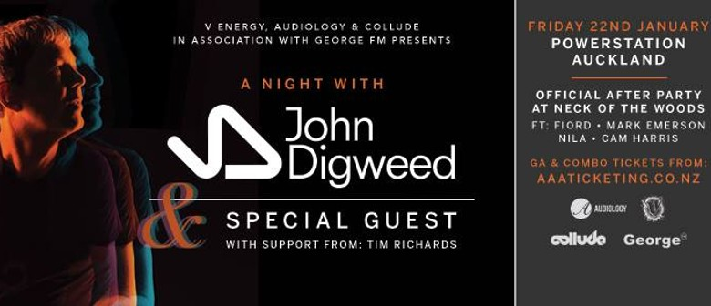 A Night with John Digweed (& Special Guest TBA)