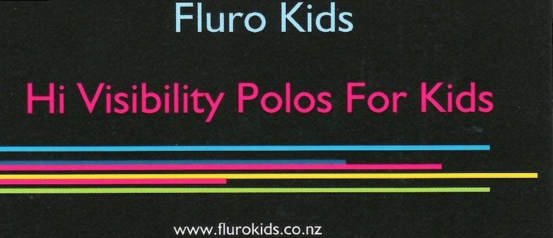 Fluro Kids - Hi Vis Polo Shirts for Kids