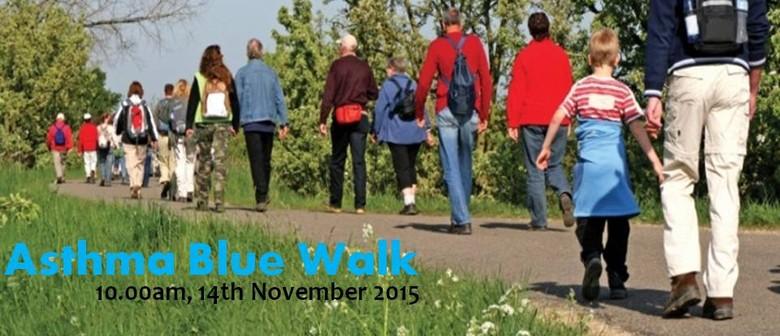Asthma Blue Walk