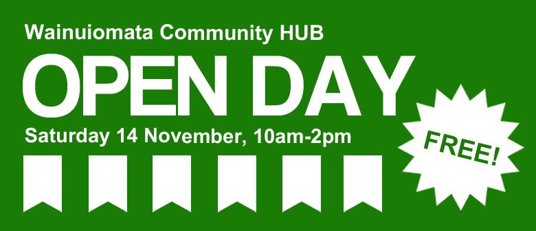 Wainuiomata Community HUB Open Day