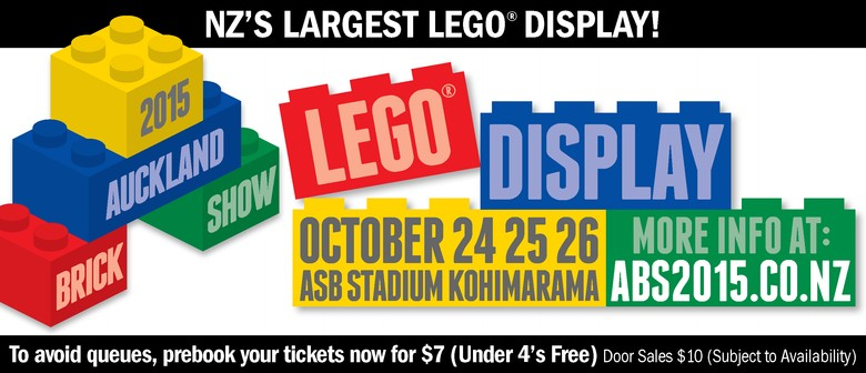 The Auckland Brick Show – NZ's Largest LEGO® Display