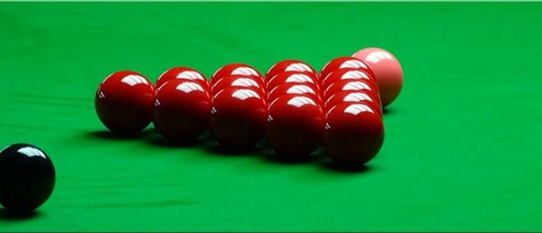 Jim Couper Open Snooker