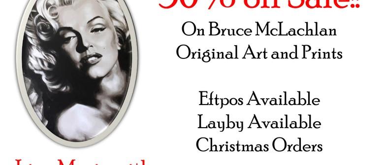 Exclusive Event Bruce McLachlan Art