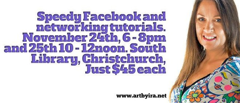 Speedy Facebook and Networking Workshop