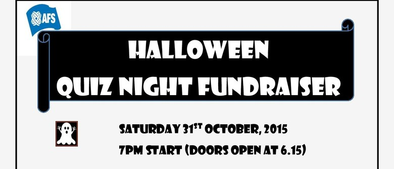 AFS Fundraising Halloween Quiz Night