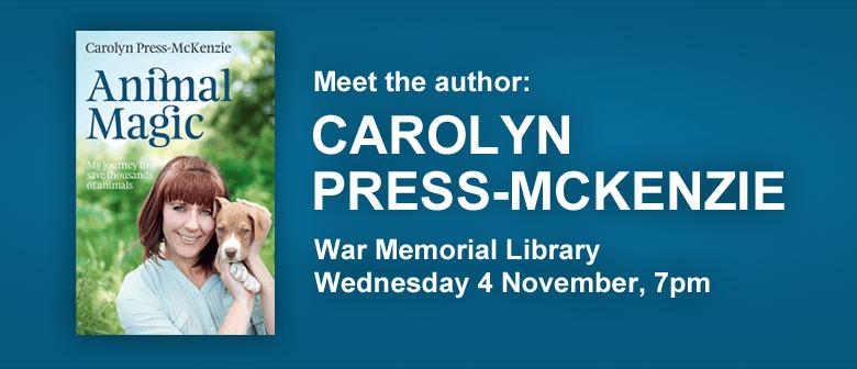 Meet the Author: Carolyn Press-McKenzie
