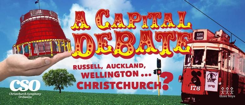 A Capital Debate