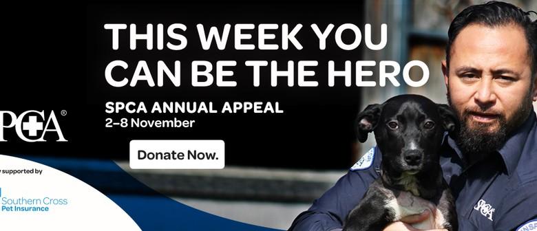 SPCA Taupo- National Appeal Week