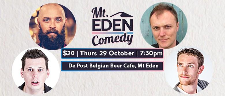Mt Eden Comedy: Jamie Bowen