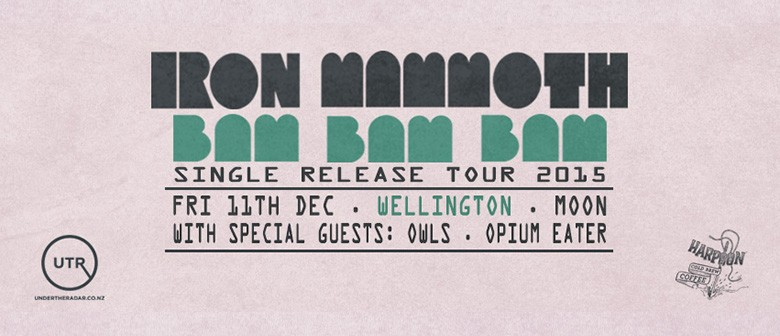 Iron Mammoth Bam Bam Bam Single Release Tour